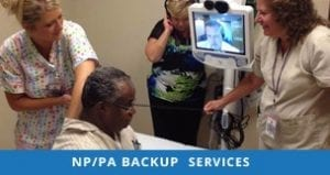 NP/PA Backup Services Case Studies
