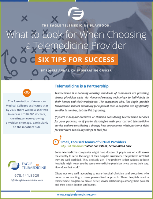 6 Tips Telemedicine Success