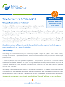 Pediatrics and Neonatology Telemedicine